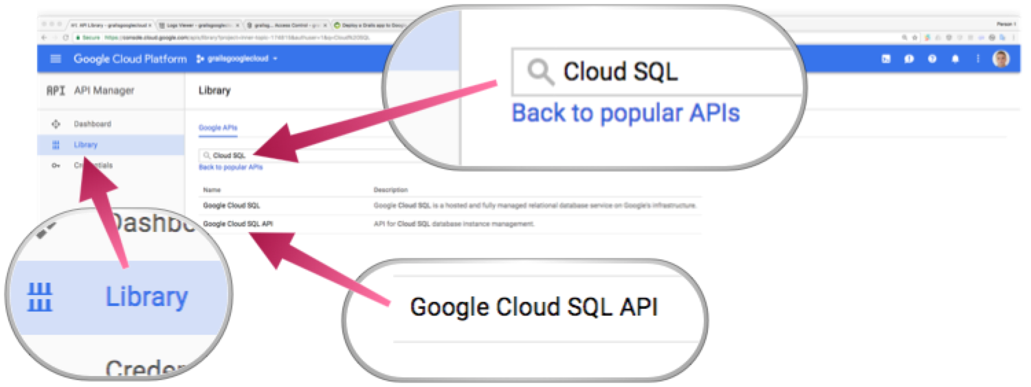 Deploy a Grails app to Google Cloud
