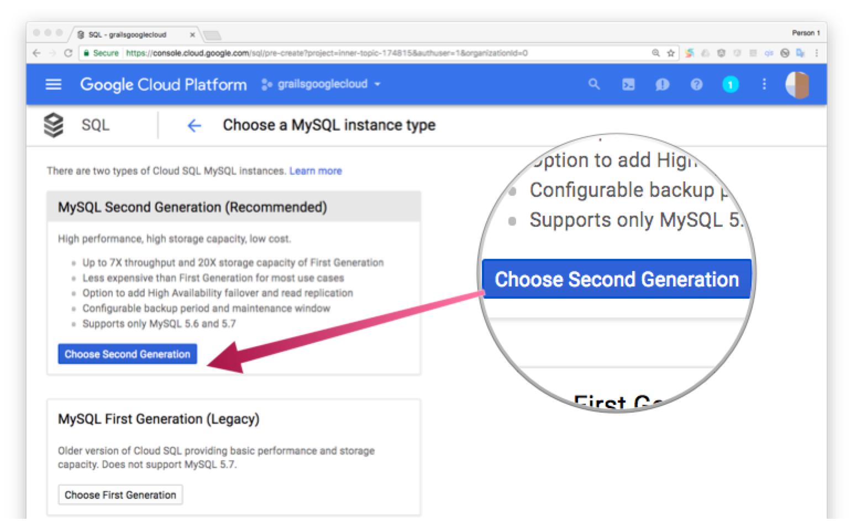 Deploy a Grails app to Google Cloud | Grails Guides | Grails Framework