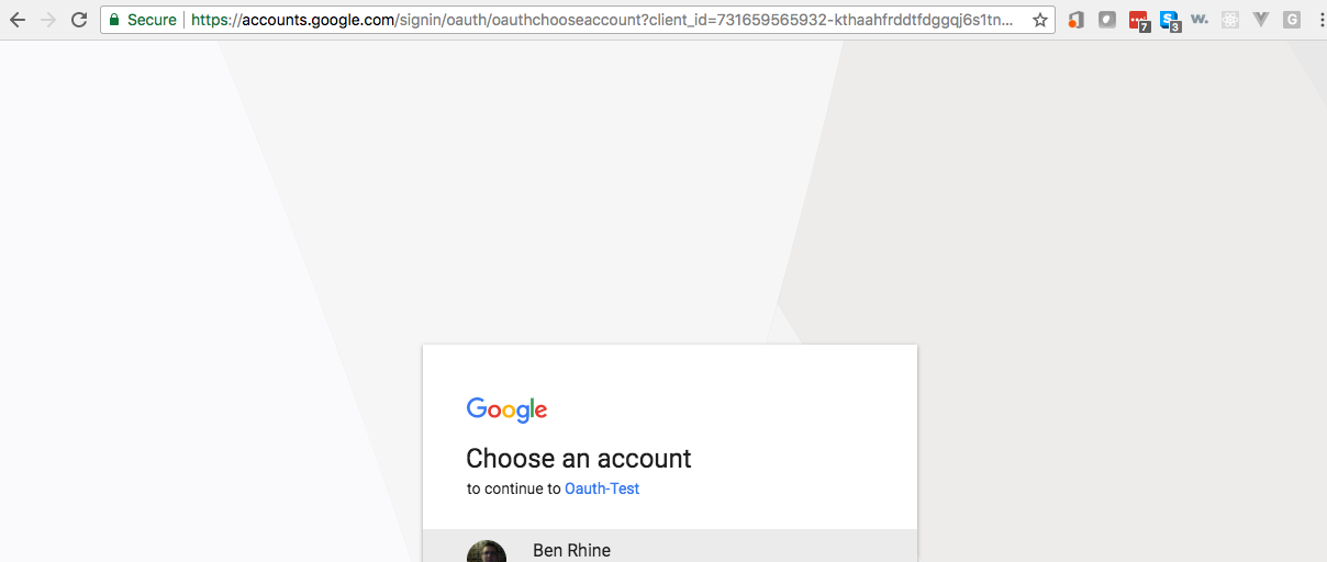 Google OAuth2 with Grails 3 and Spring Security REST